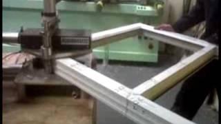 making a window frame