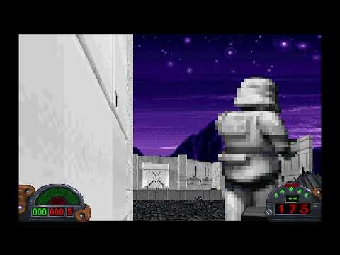 Gameplay Star Wars Dark Forces |