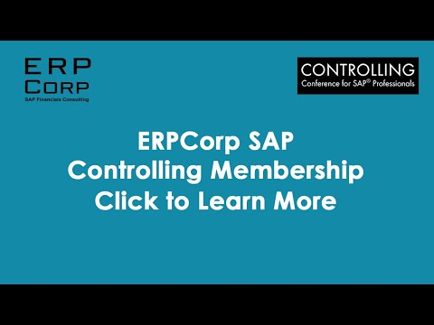 SAP Controlling Caterpillar Case Study