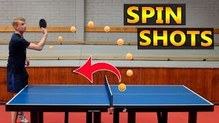 Ping Pong Against Yourself (crazy spin)