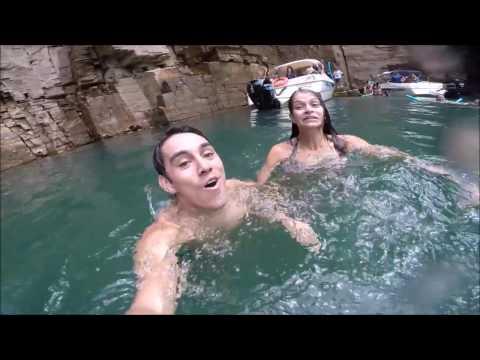 Capitólio, Minas Gerais - Cachoeira e Paisagens