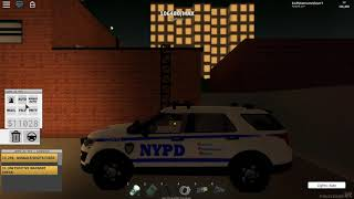 Roblox POLICESIM: NYC | Alpha Testing NEW CARS (New update)