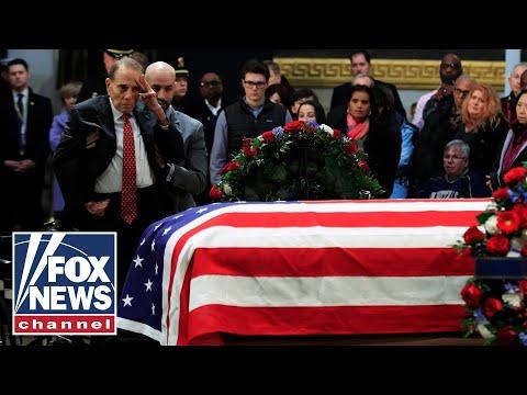 Good Morning Orlando - WATCH: Bob Dole Salutes Bush 41