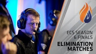 ECS Season 6 Finals Day 2 - The Elimination Matches