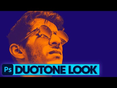 Photoshop Tutorial: Duotone Look erzeugen thumbnail