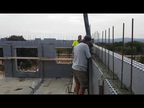 StyroStone ICF concrete pour Castellon1