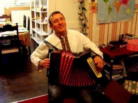 Traditional Ukrainian Musical Instrument - Bayan - Garmoshka  -   гармошка
