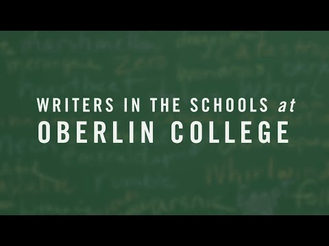 Oberlin College: Writers In The Schools Program