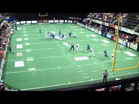 David James II Texas Revolution Indoor Football