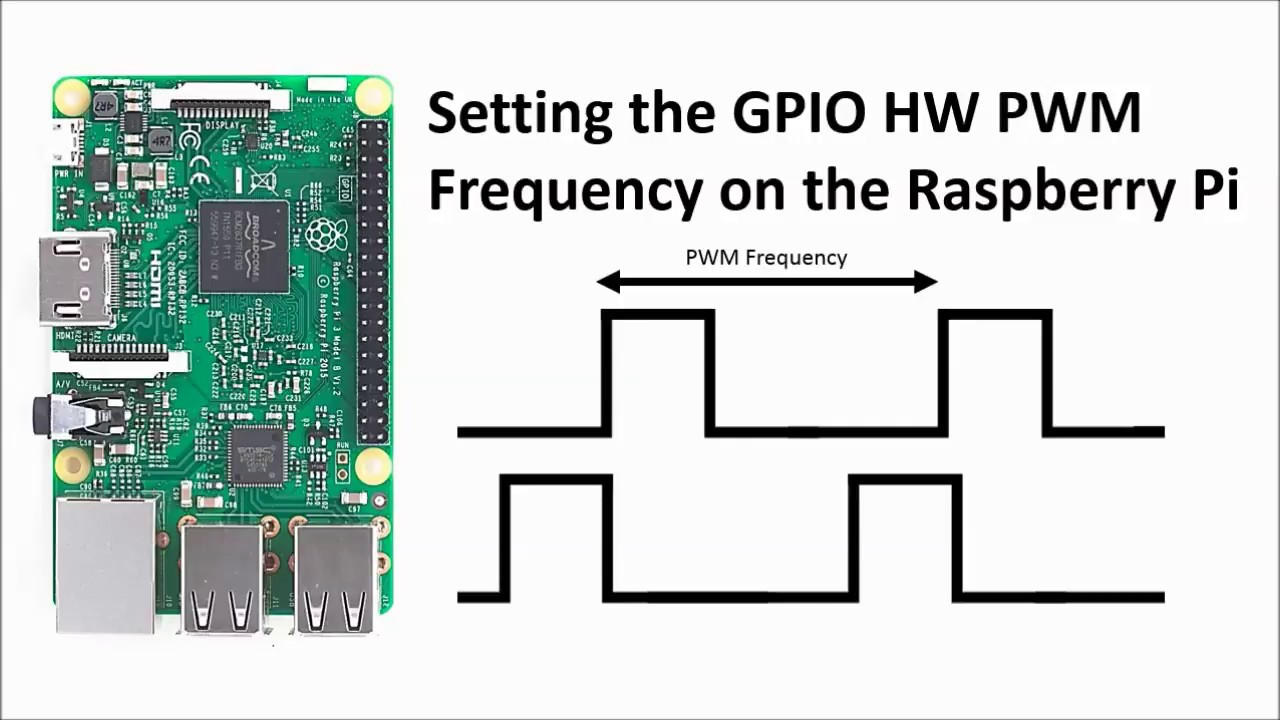 setting the gpio hardware pwm frequency on the raspberry pi youtube rh youtube com High Frequency PWM Motor Controller High Frequency PWM Controller