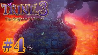 Trine 3 The Artifacts of Power - Gameplay Walkthrough Part 4 - Max Settings Full Game [ HD ]