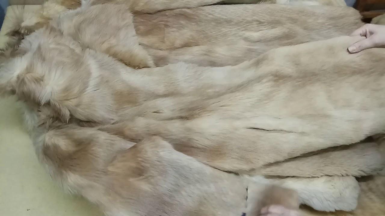 Шубы натуральный мех секонд-хенд оптом