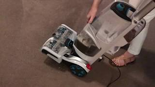 Hoover smartwash automatic carpet cleaner turquoise steam vacuum vac