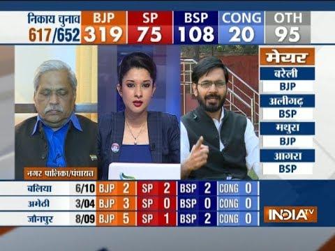Blow to Rahul as BJP registers win in Amethi, the Congress VP's Lok Sabha constituency