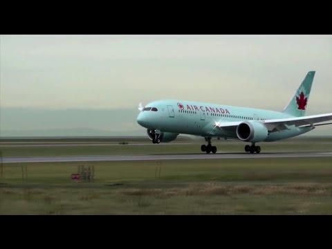 Как тормозят самолеты при посадке