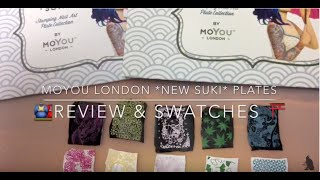MoYou London *NEW SUKI* Plates - Review & Swatches