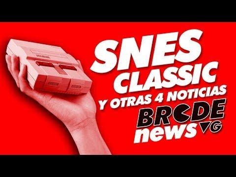 SNES Classic Edition y otras 4 noticias