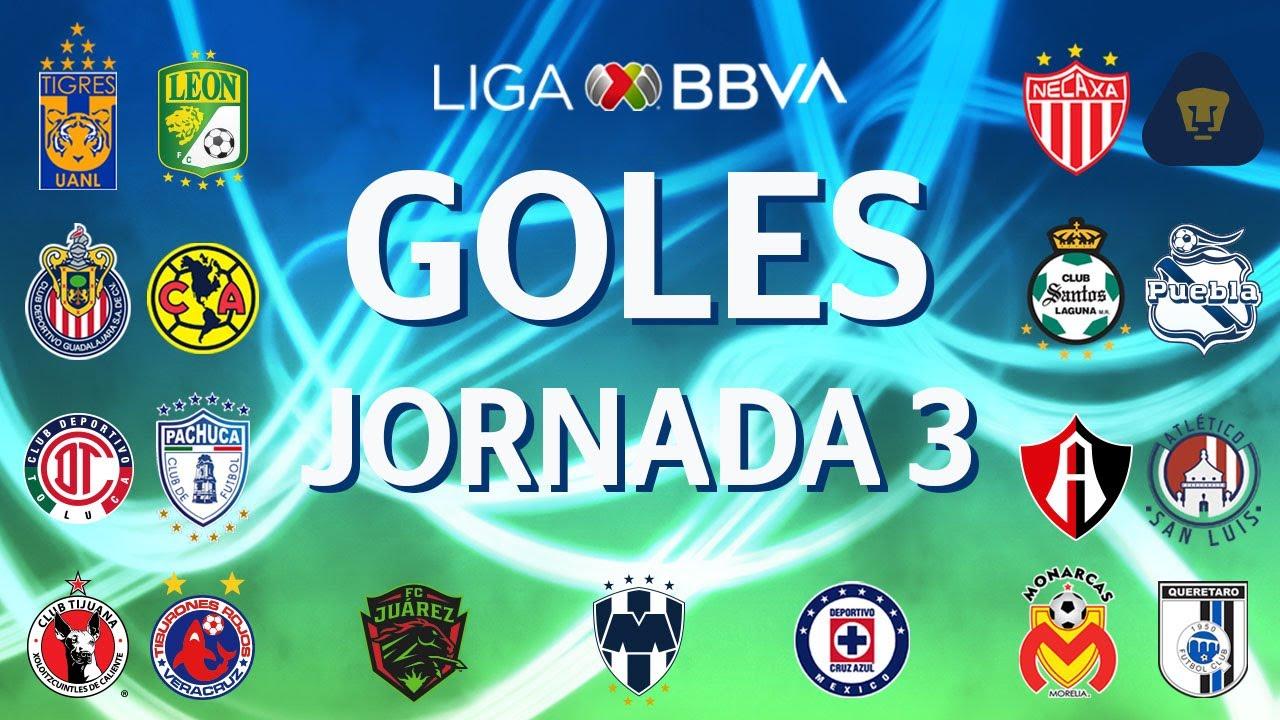 Goles Jornada 3 | Apertura 2019 | Liga BBVA MX