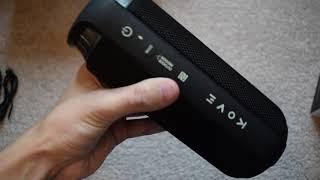 KOVE Commuter Bluetooth Speaker.