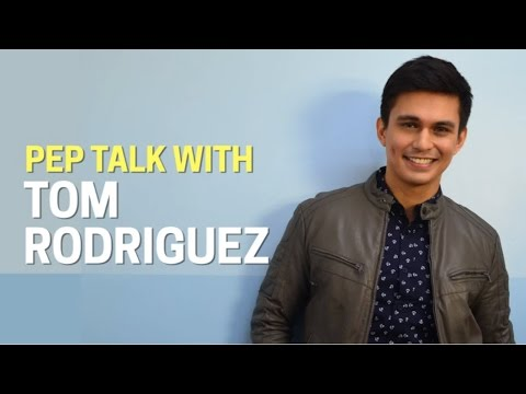 Tom Rodriguez full interview   PEP TALK