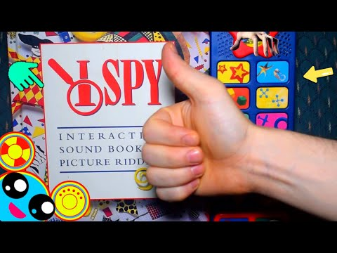 I SPY RIDDLES SOUND MYSTERY BOOK! (BUTTON STORY) | Play-a-Song