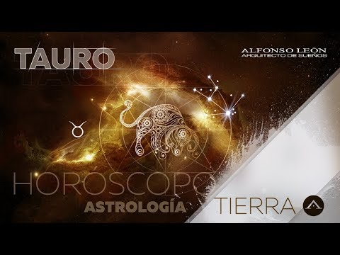 TAURO | 16 AL 22 DE OCTUBRE | HORÓSCOPO SEMANAL | ALFONSO LEÓN ARQUITECTO DE SUEÑOS