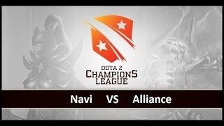 [ Dota2 ] Navi vs Alliance - D2 Champions League S2 - Thai Caster