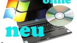 PC neu aufsetzen ohne CD| Windows