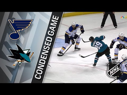 03/08/18 Condensed Game: Blues @ Sharks