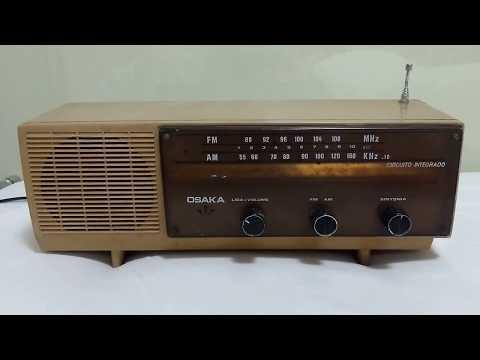 Antigo Rádio Osaka, AM / FM, quem já viu um desses?
