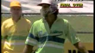 biggest six in australia   imran khan 1988