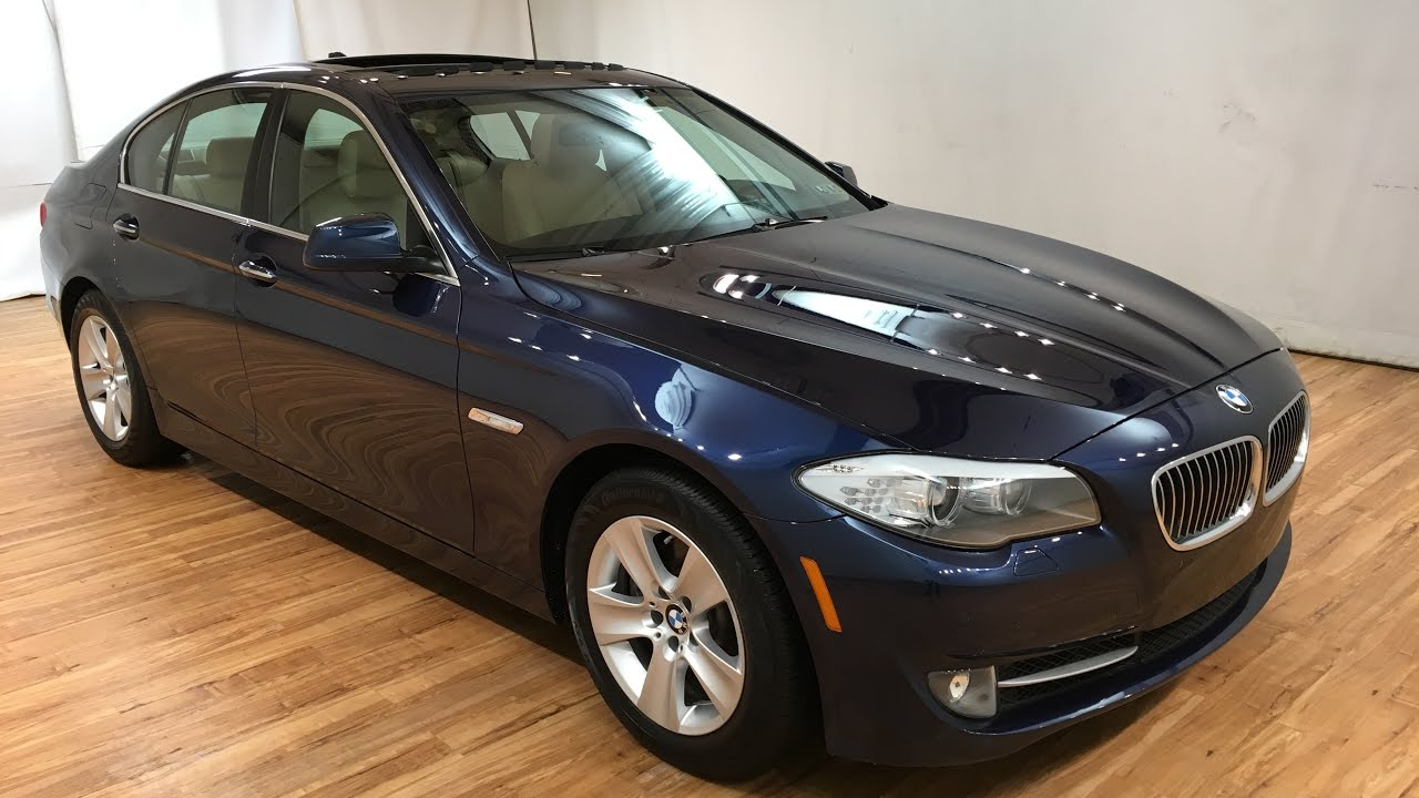 2013 Bmw 5 Series 528i Xdrive Awd Navi Sunroof Rear Cam Carvision