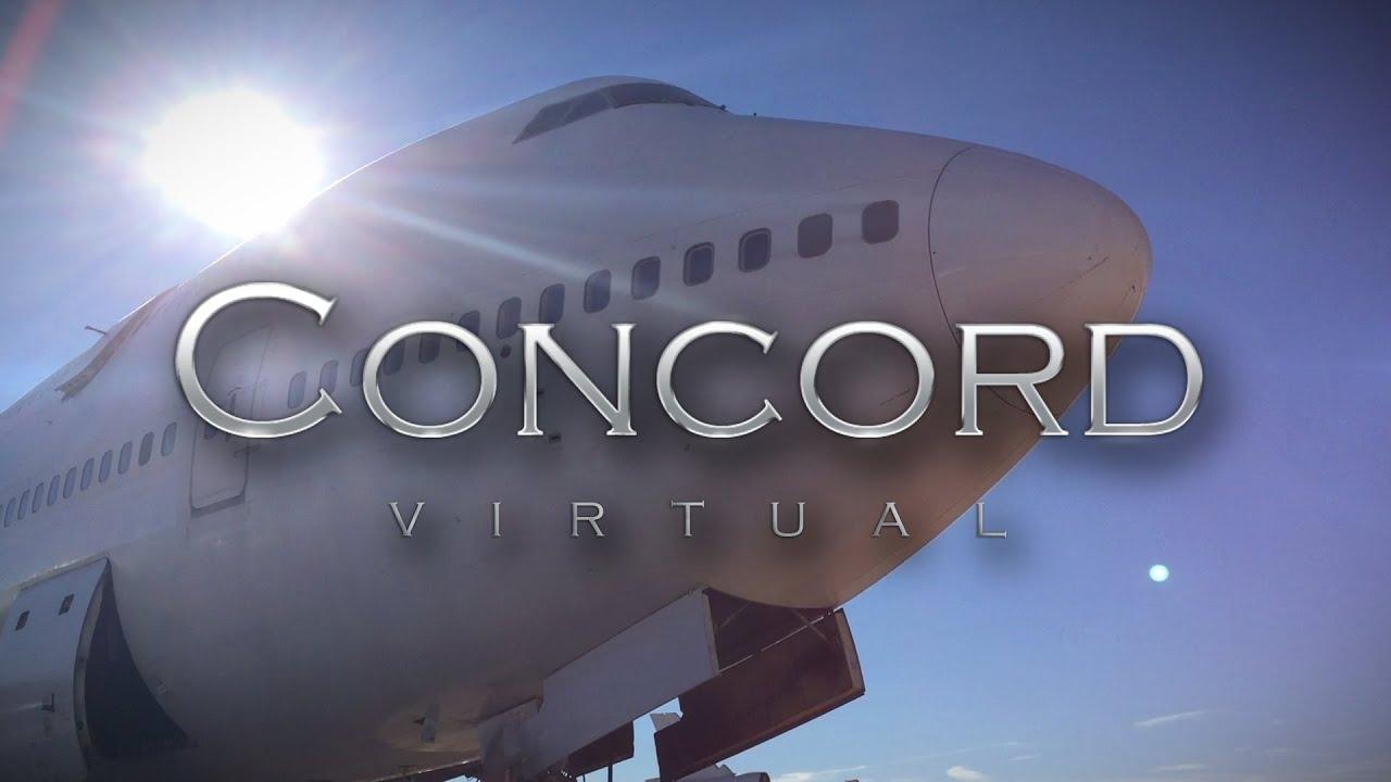 Concord Virtual Boeing 747-400 Part 1