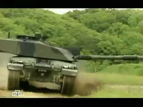 Военное дело Английский танк Челленджер 2 - YouTube
