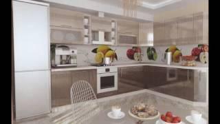 Современный интерьер кухни цвета кофе с молоком с глянцевыми фасадами(, 2017-06-22T13:49:35.000Z)