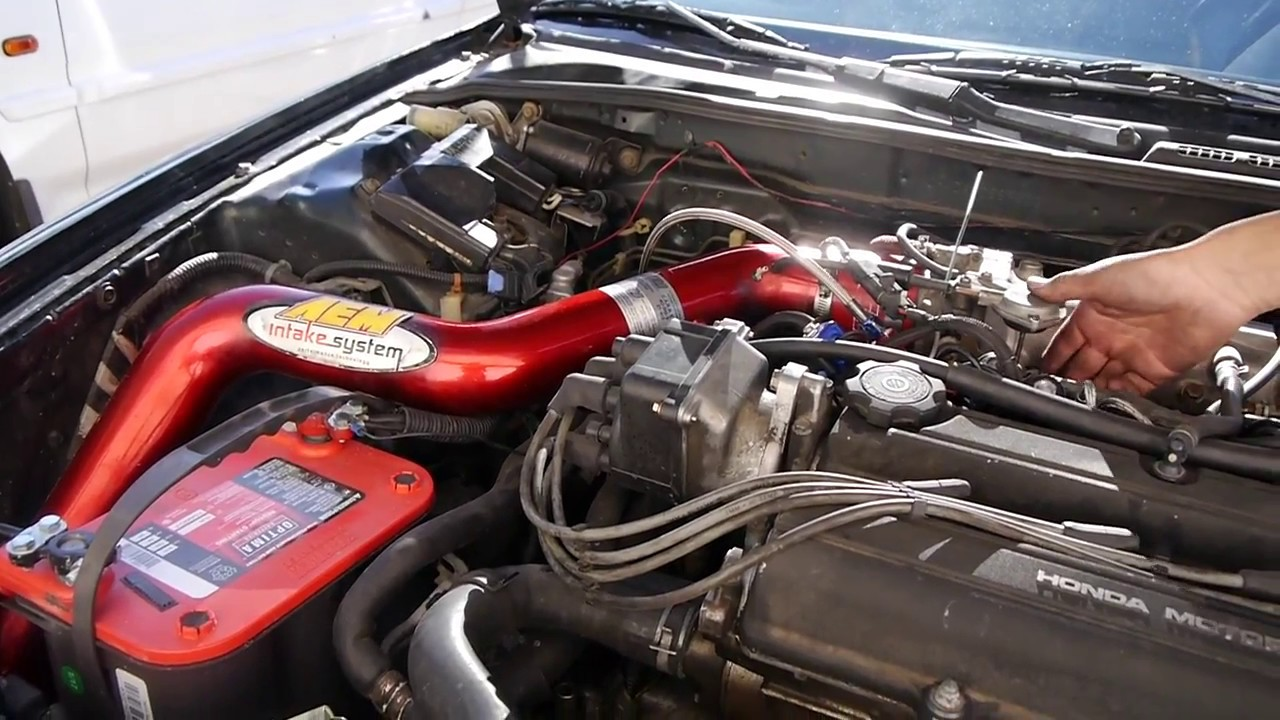 Integra Da Aem Cold Air Intake YouTube - Acura integra cold air intake