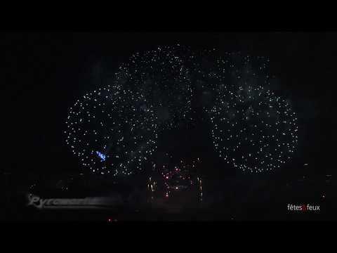 Paris 2012  Feu d'artifice Tour Eiffel Quatorze Juillet Fireworks (w original soundtrack)