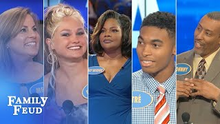 Family Feud's FUNNIEST Steve Harvey Moments!!! | Part 7