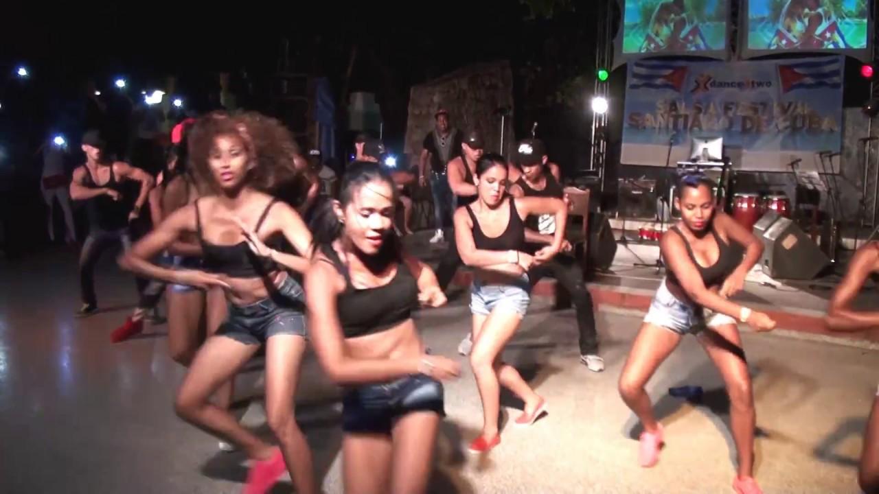 Salsa Festival Santiago De Cuba 2016 Show Terraza De La Salsa