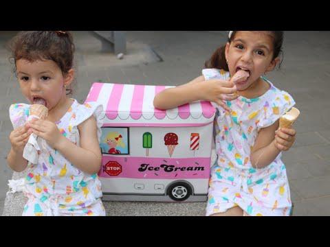 شاحنة الايسكريم الصغيرة | Ice Cream Truck |  Toy Ice Cream Truck | Ice cream song | kids toys