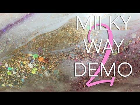 Tumbler Tutorial: Milky Way Tumbler Pt. 2 - featuring Nicole Marett Original Iconic Pigments