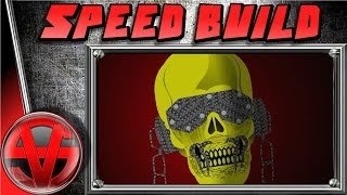 VIC RATTLEHEAD - MEGADETH - SPEED BUILD - Black Ops 3 Emblem Tutorial