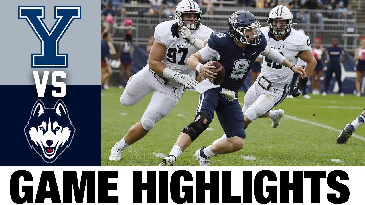 Yale vs UConn   Week 7   2021 College Football