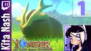 Yonder Gameplay: ANIMAL CROSSING MEETS ZELDA? |Part 1| The Cloud Catcher Chronicles Let