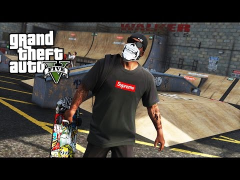 ULTIMATE SKATEBOARDING + BMX STUNTS & TRICKS MOD!! (GTA 5 Mods)