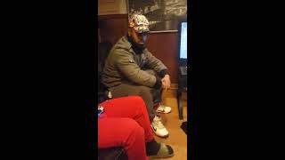 dominican trump supporter going in .... Free HD Video