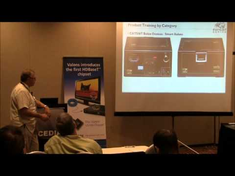 HDBaseT - Plug & Play, HDMI Twisted Pair Connectivity, Switching and Distribution, CEDIA 2011