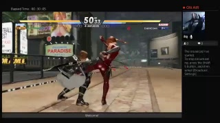 Dead Or Alive 6 Online - PS4 PRO - RANKED MATCHES VS TREX?