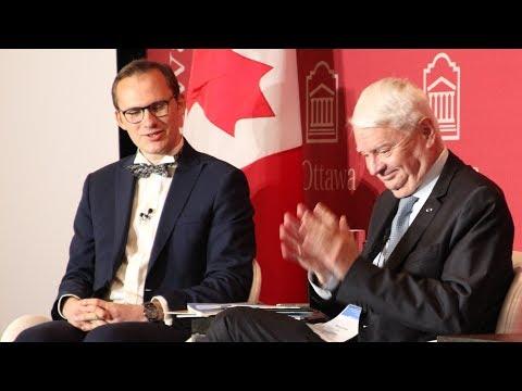 Conversation sur la paix (Hervé Ladsous - Benjamin Boutin) à la conférence internationale d'Ottawa