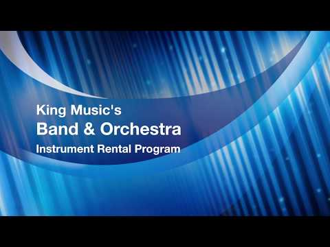 King Music Inc Instrument Rental Program